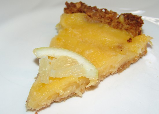 Almond chocolate pie and lemon almond pie recipe