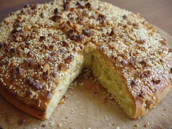 Bread polpette and vasilopita recipe